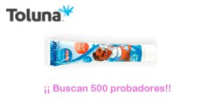 Toluna busca 500 probadores de Dentífrico Fluoflor