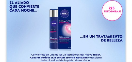 Buscan 25 testadoras de Nivea Cellular Perfect Skin
