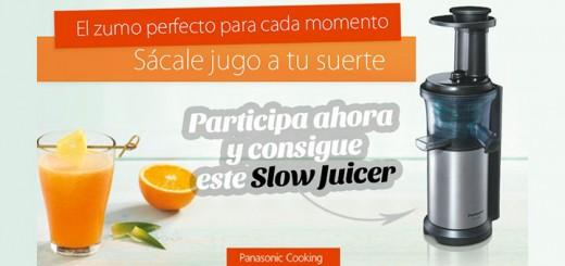Consigue un Slow Juicer de Panasonic