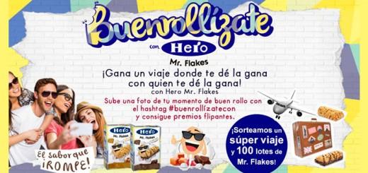Consigue un viaje y premios con Hero Mr. Flakes