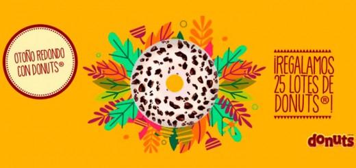 Donuts sortea 25 lotes de sus productos