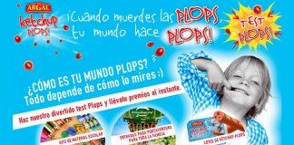 Llévate premios con Argal Ketchup plops
