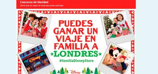 Gana un viaje a Londres en familia con Disney
