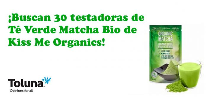 Prueba gratis té orgánico verde Matcha