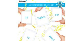 Toluna sortea 15 tablets