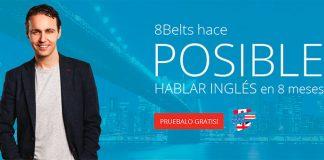 Aprende inglés gratis en 8 meses con 8Belts
