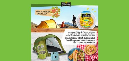 Gana un kit de acampada con Florette