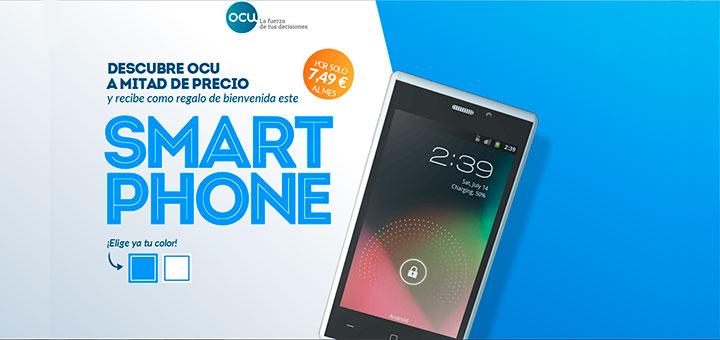 Consigue un Smart Phone con OCU