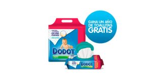 Gana un año de toallitas Dodot gratis