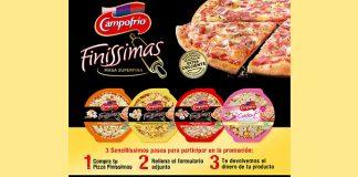 Prueba gratis pizzas Finíssimas Campofrío
