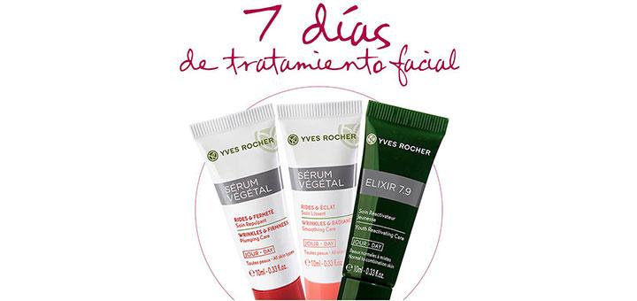 Tratamiento facial gratis con Yves Rocher
