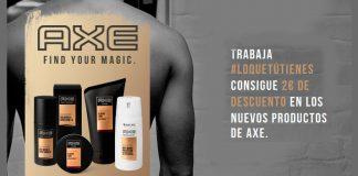 2€ de descuento en los nuevos productos Axe