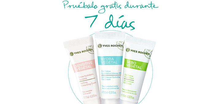 Llévate gratis un Tratamiento Facial con Yves Rocher