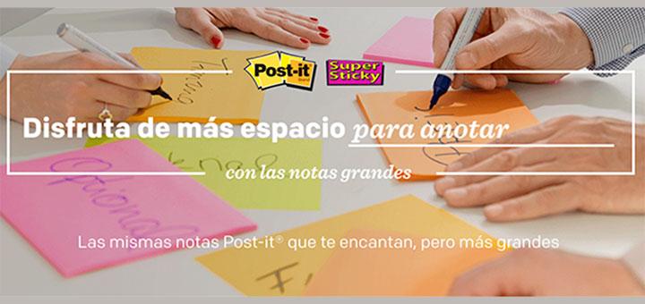 Muestras gratis de Post it