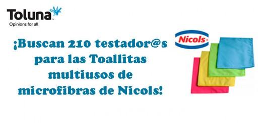 Prueba gratis las toallitas multiusos de Nicols
