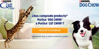 Prueba gratis Purina Cat Chow y Purina Dog Chow