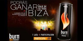 Gana un viaje a Ibiza con Burn