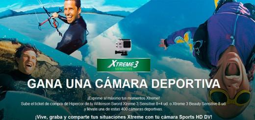 Gana una cámara con Xtreme 3 Sensitive