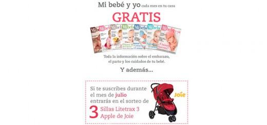 La revista Mi bebé y yo gratis