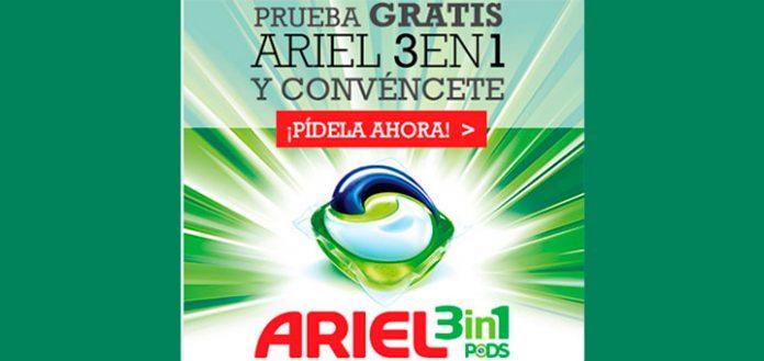 Prueba gratis Ariel 3 en 1