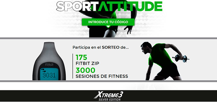 Sortean Fitbit Zip y sesiones de Fitness
