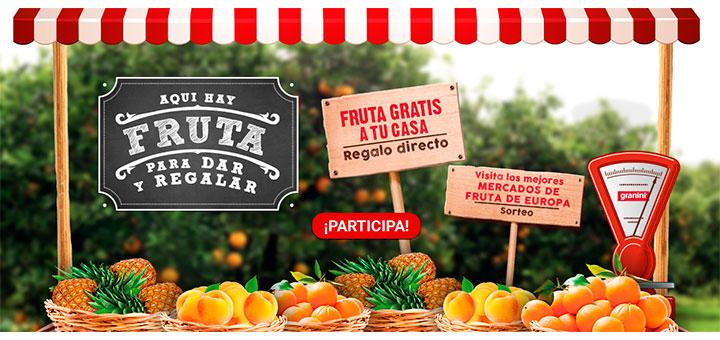 Consigue fruta gratis con Granini