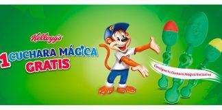 Consigue una cuchara mágica gratis con Kellogg's