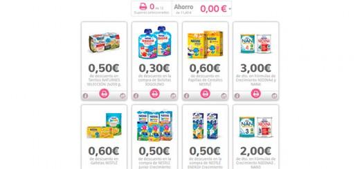 Cupones descuento en Nestlé Bebé