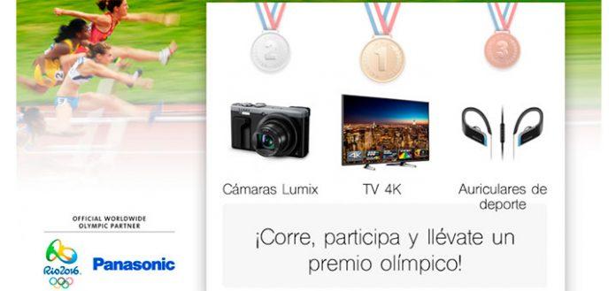 Gana un premio olímpico con Panasonic