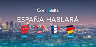 Prueba gratis 8belt para aprender idiomas