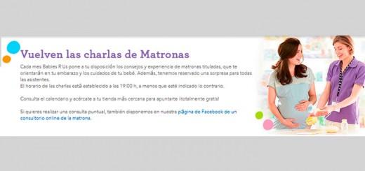 """Charlas de Matronas en Toy""""R""""Us"""