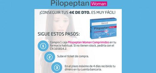 Consigue 4€ de descuento en Pilopeptan