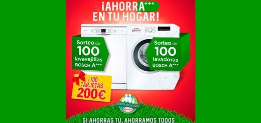 Consigue electrodomésticos con Henkel