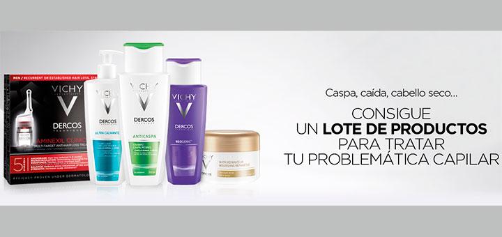 Consigue un lote de productos Vichy