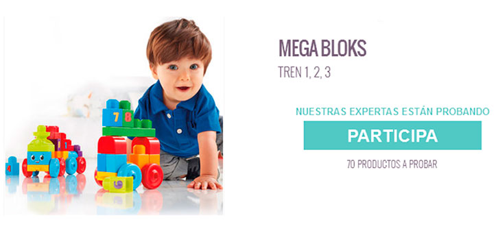Dan a probar gratis Mega Bloks