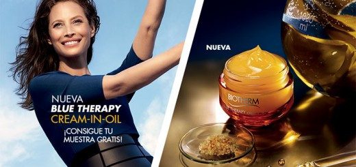 Muestras gratis de Blue Therapy Cream-In-Oil