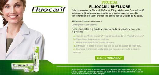 Muestras gratis de Fluocaril Bi-Fluoré