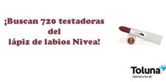 Buscan testadoras del lápiz de labios Nivea