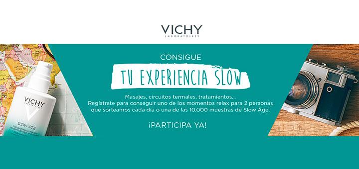 Consigue una muestra Slow Age de Vichy