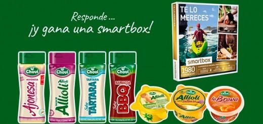 Gana una smartbox con Choví