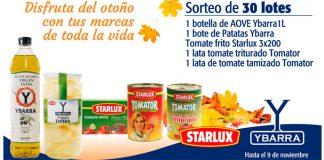 Sortean 30 lotes de productos Ybarra y Starlux