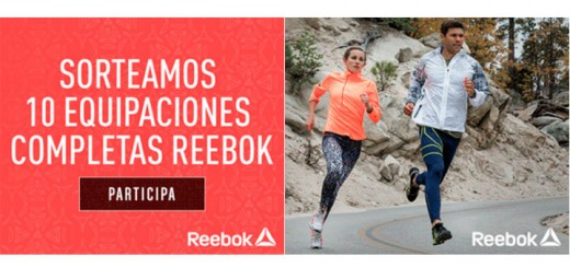 Sortean 10 outfits completos Reebok