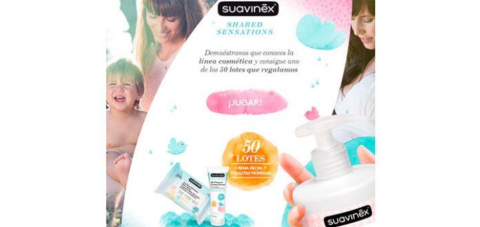 Suavinex regala 50 lotes de productos