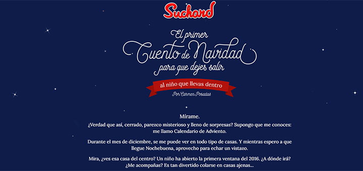 Calendario de adviento Suchard