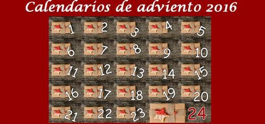 Calendarios de adviento 2016