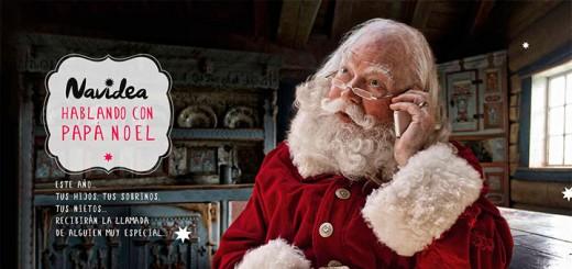 Habla con Papá Noel