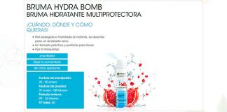 Buscan testadoras de Bruma Hydra Bomb