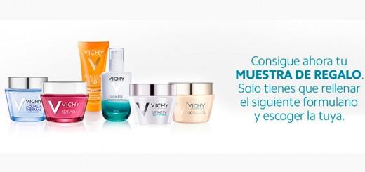 Consigue una muestra gratis Vichy