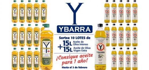 Gana Aceite de Oliva Ybarra para un año