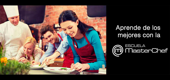 Gana un curso de cocina en la escuela masterchef muestras - Escuela de cocina masterchef ...
